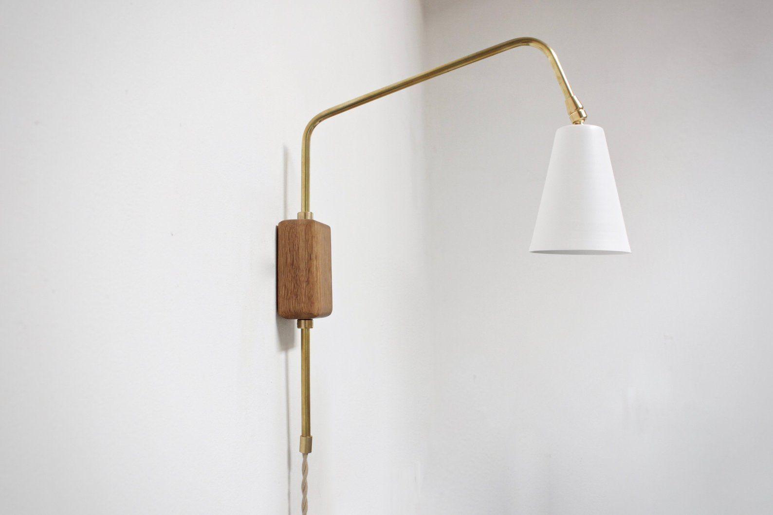 Swing Arm Sconce White Lamp Wall Lamp Adjustable Light Mid Etsy Adjustable Lighting White Lamp Wall Lamp