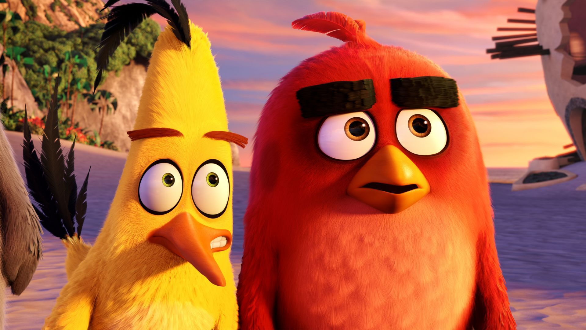Wallpaper Angry Birds Movie Chuck Red Best Animation Movies Of 2016 Movies 7082 Angry Birds Animacoes Legais Animacao