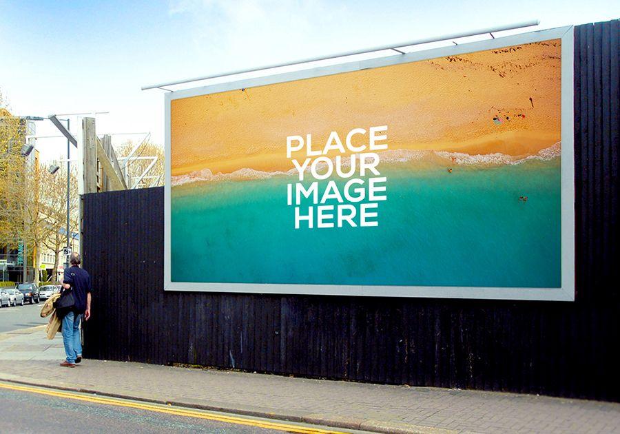 Billboard ad mockup