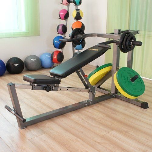 With The Locking Pin Positioned At Its Lowest Setting And The Bench At Its Lowest Angle You Can Also Use The Bench Press Muscle Building Workouts At Home Gym