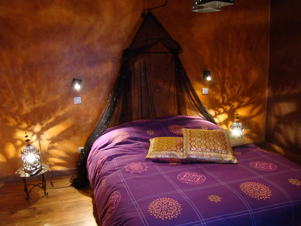 Beautiful boho bedroom The lanterns and global styled