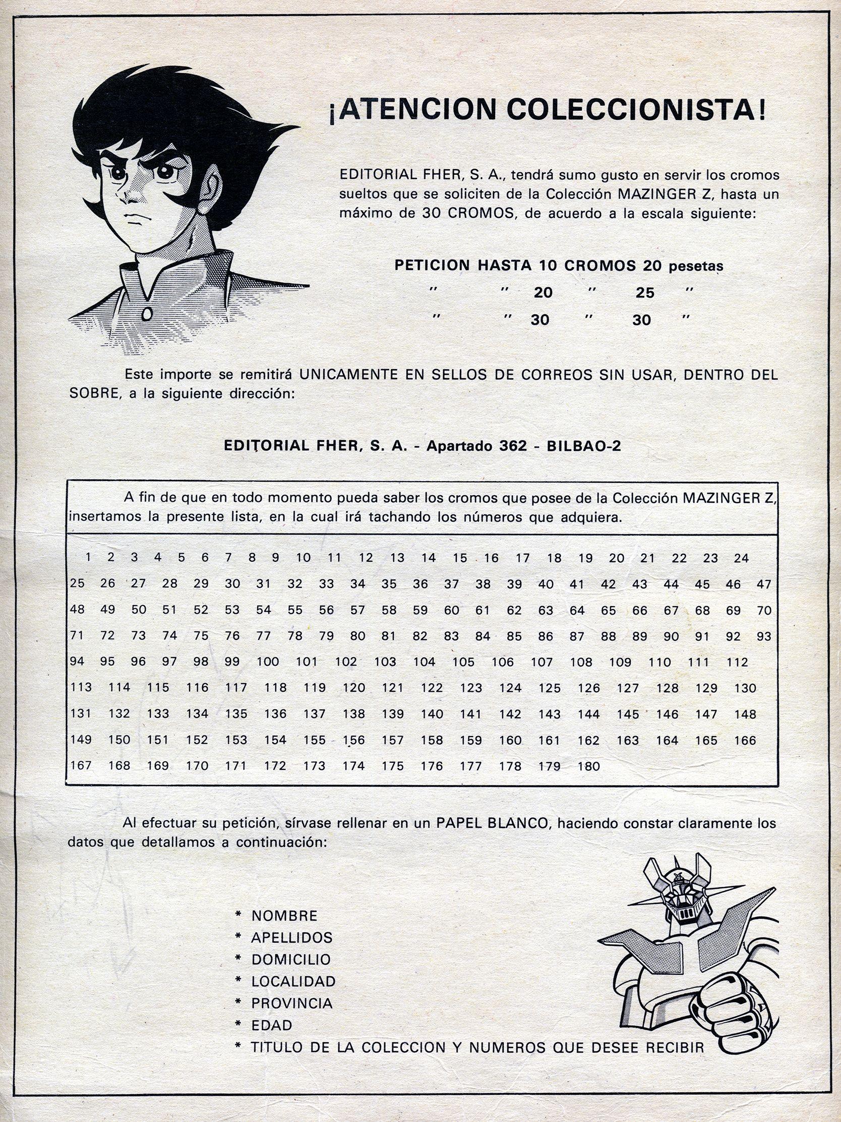 Pagina 17 del primer album de Mazinger-Z (Remasterizado por Liderdark)