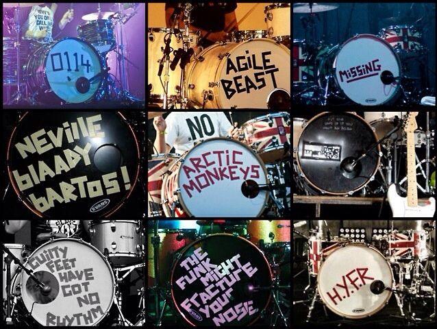 Matt S Drums Arctic Monkeys Arctic Monkeys The Last Shadow Puppets Artic Monkeys