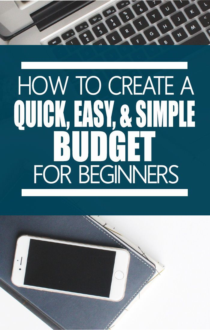 budgets quick easy simple method for beginners living frugally