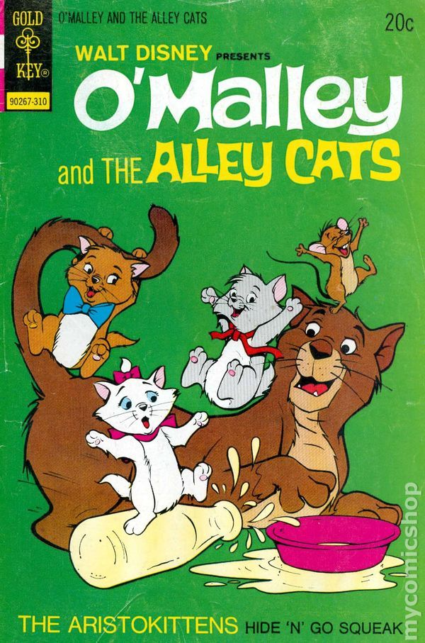 O'Malley and the Alley cats (With images) Disney presents