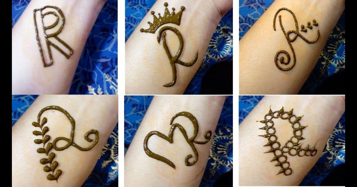 15 Tato Henna Simple Alphabet Tattoo Mehndi Designs 6 Beautiful Alphabet R Tattoo Mehndi In 2020 Henna Tattoo Designs Simple Henna Tattoo Designs Simple Henna Tattoo