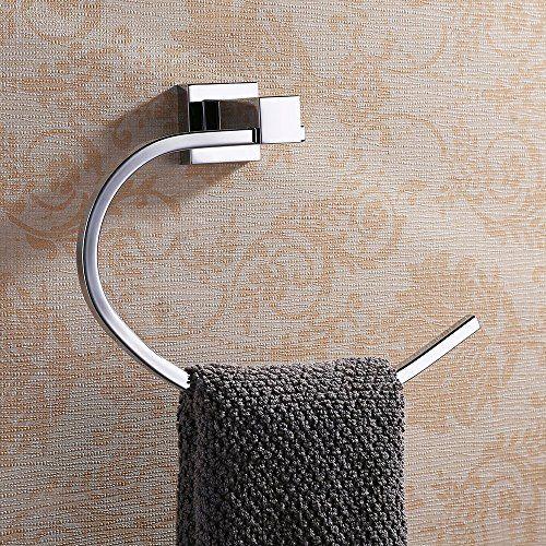 Homelody® bathroom Elegant Chrom aus Edelstahl Handtuchhalter Wand - handtuchhalter küche ausziehbar edelstahl