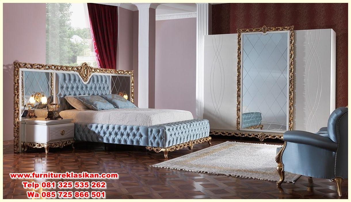 Desain Set Tempat Tidur Ukiran Klasik Ahli Set Tempat Tidur  # Dilusso Muebles