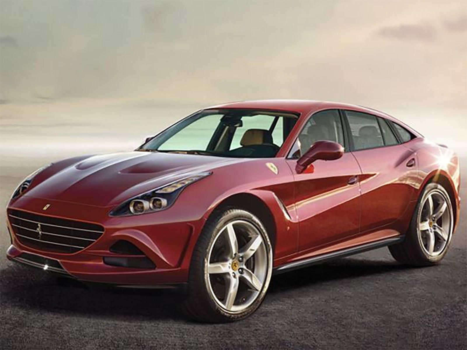 Ferrari Reveals The Name Of Its All New Suv Ferrari Suv Bilar