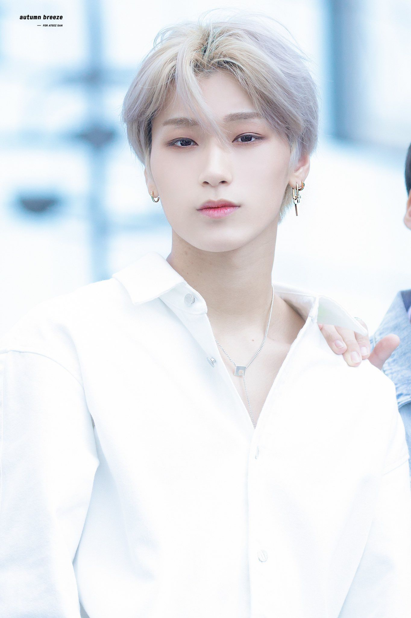 Pin By L I Z Z I E On Ateez Choi San San Hot Abs Kpop Idol
