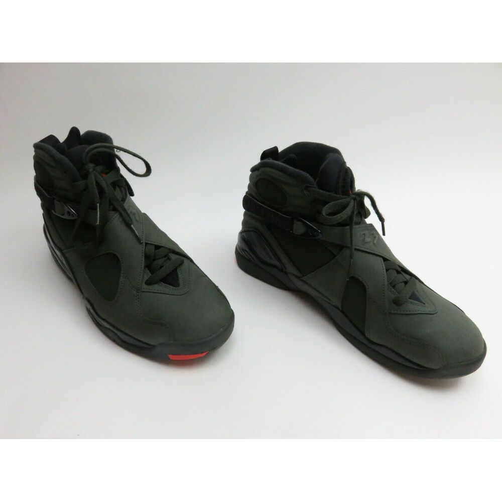 low priced e2d64 e9836 eBay  Sponsored Nike Air Jordan 8 Take Flight Size 9.5 Sequoia Black Wolf  Grey Basketball Shoe