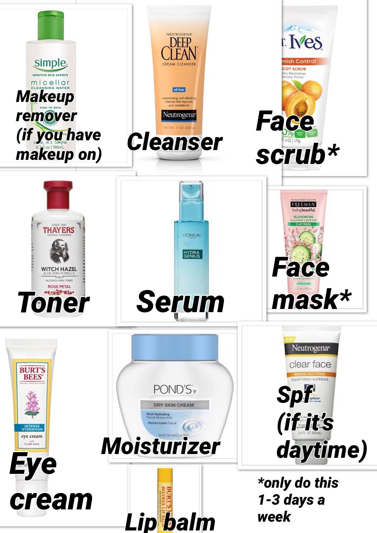 Beginner Drugstore Skincare Beauty Skin Care Routine Facial Skin Care Routine Best Skin Care Routine