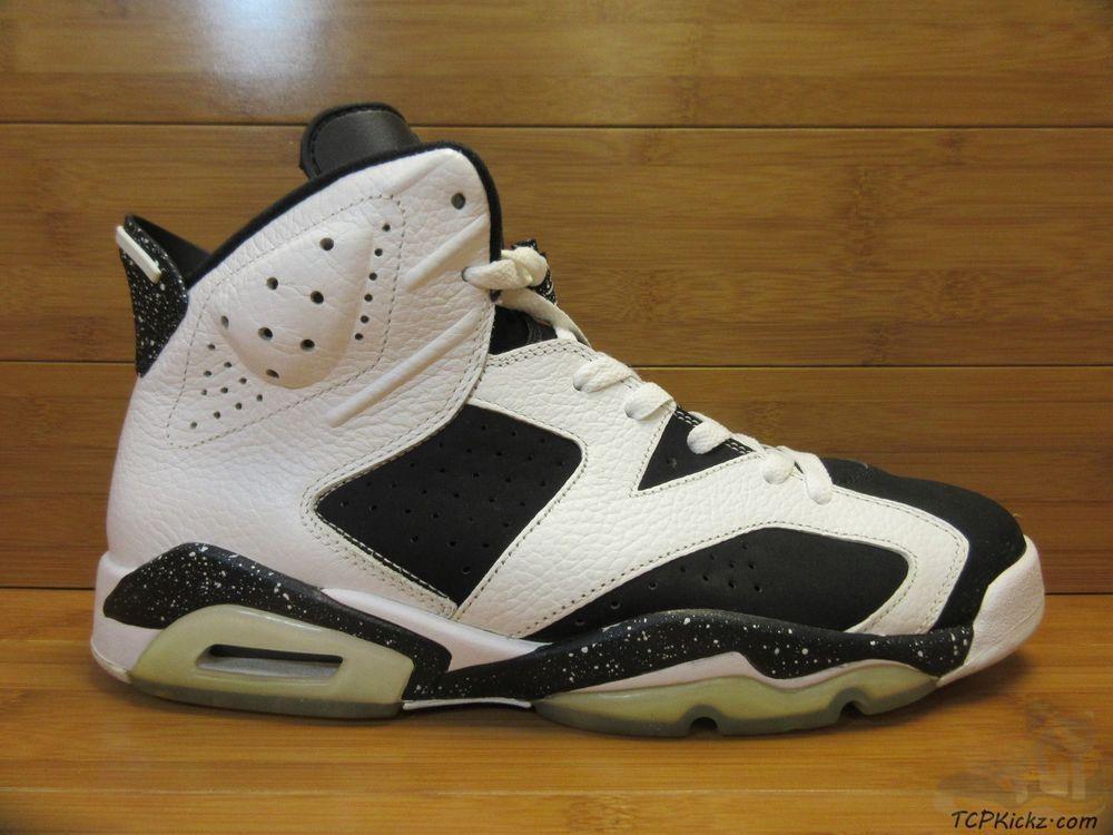 reputable site a0dea ad024 Vtg OG 2009 Nike Air Jordan VI 6 s sz 11 XI Oreo Retro Infared Black White   Jordan  AthleticSneakers