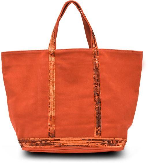Vanessa Bruno Medium+ velvet leather tote with glitter on shopstyle.com.au