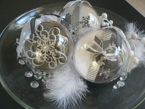 Boule Plexi A Decorer Pour Noel
