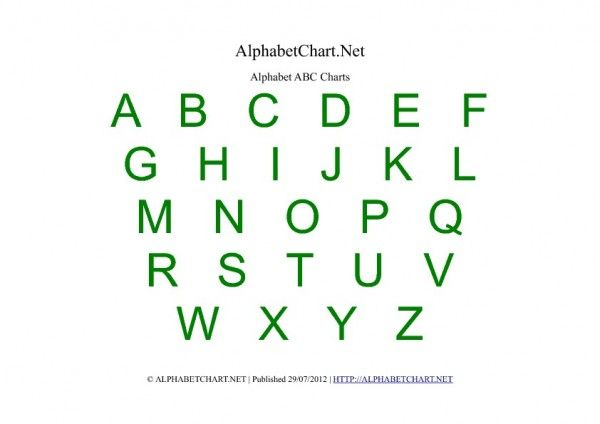 picture about Abc Chart Printable Pdf identify Absolutely free Printable Alphabet Chart Pdf Alphabet charts Abc
