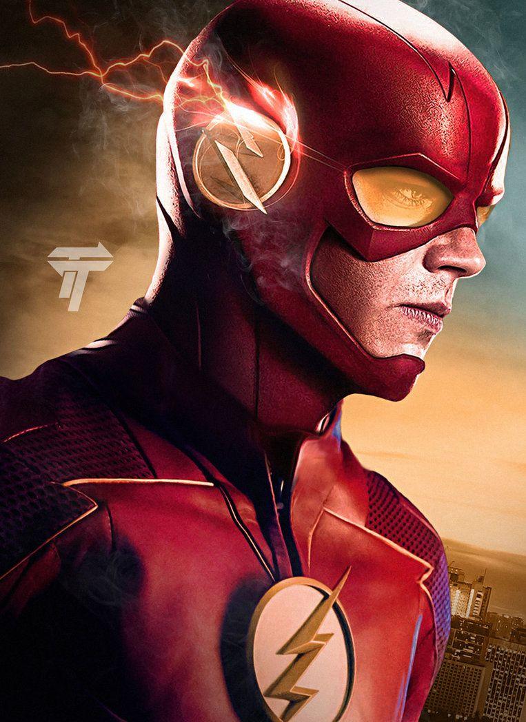 The Flash Season 4 Poster by Timetravel6000v2 deviantart com