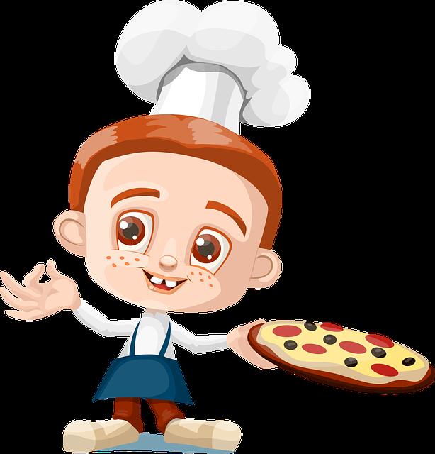Free Image on Pixabay - Cook, Boy, Kid, Pizza, Holding ...