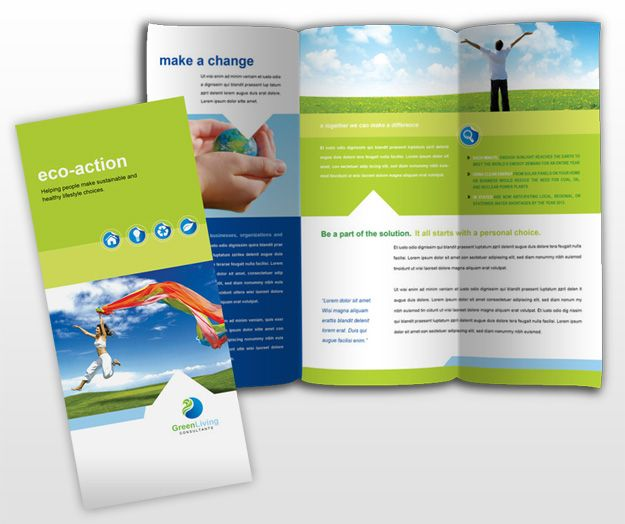 Template Indesign Colorfull Brochure Energy  Recherche Google