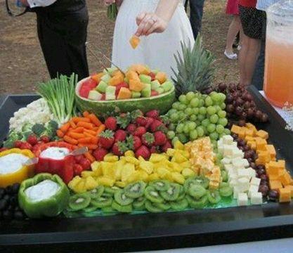 Grandiosas y originales mesas de frutas para eventos - Ideas ensaladas originales ...