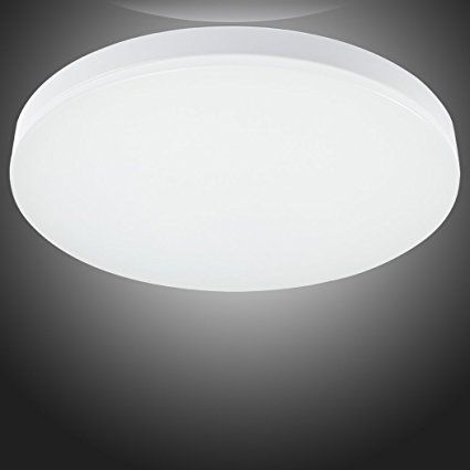 Bathroom Lighting Color Temperature s&g 12.99-inch flush mount ceiling light ultra-thin 15w 3000k