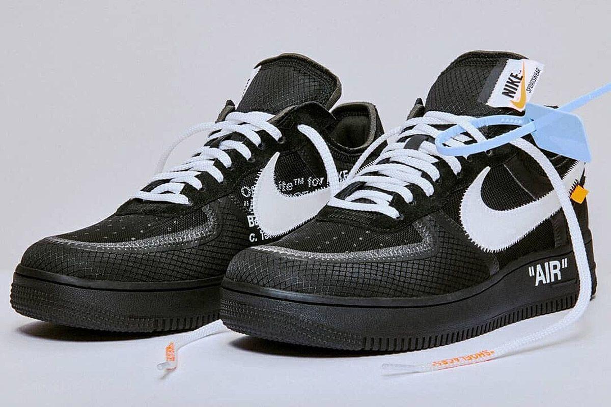 Nike traz Air Force 1 em nova collab com Off White em