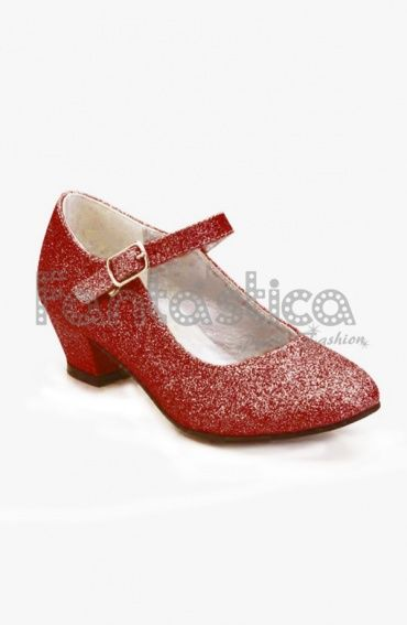 Zapatos rojos Little Mary infantiles 1oVo3