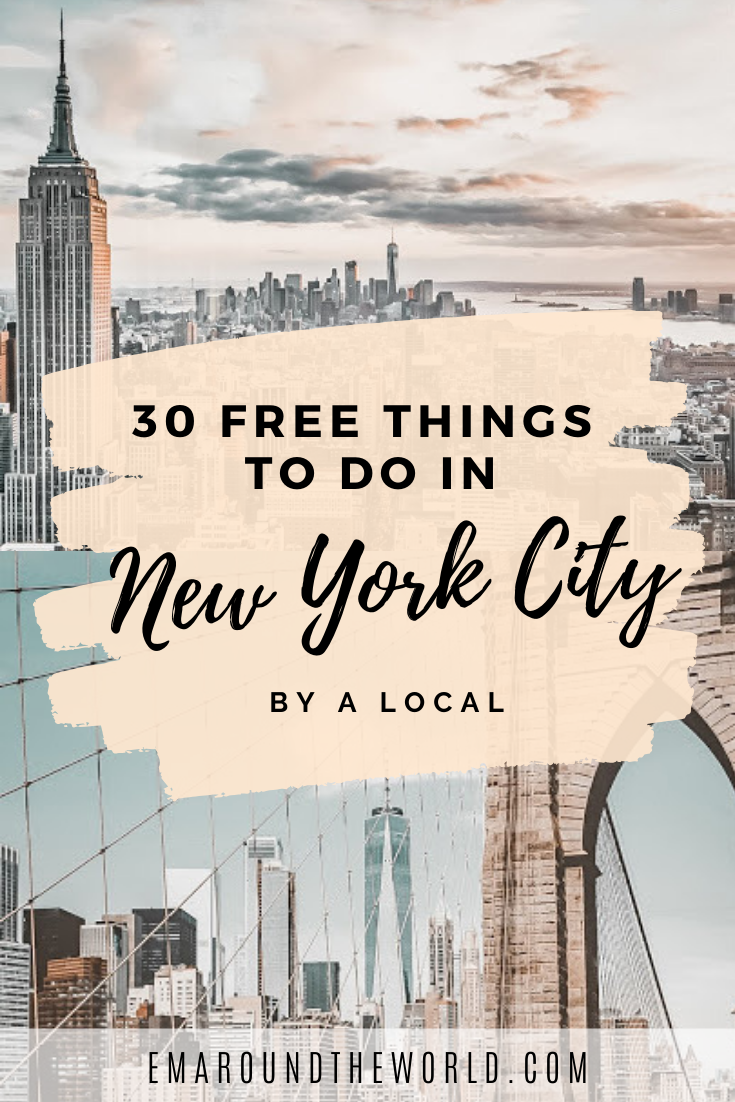 30 Free Things To Do In NYC By A Local