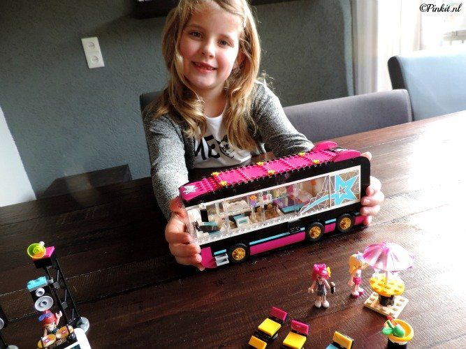 Lego Friends Popster Toerbus