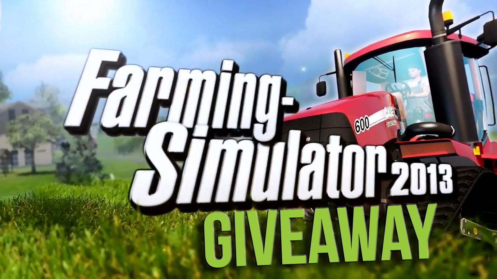 Giveaway Farming Simulator 2013 Working games, Video