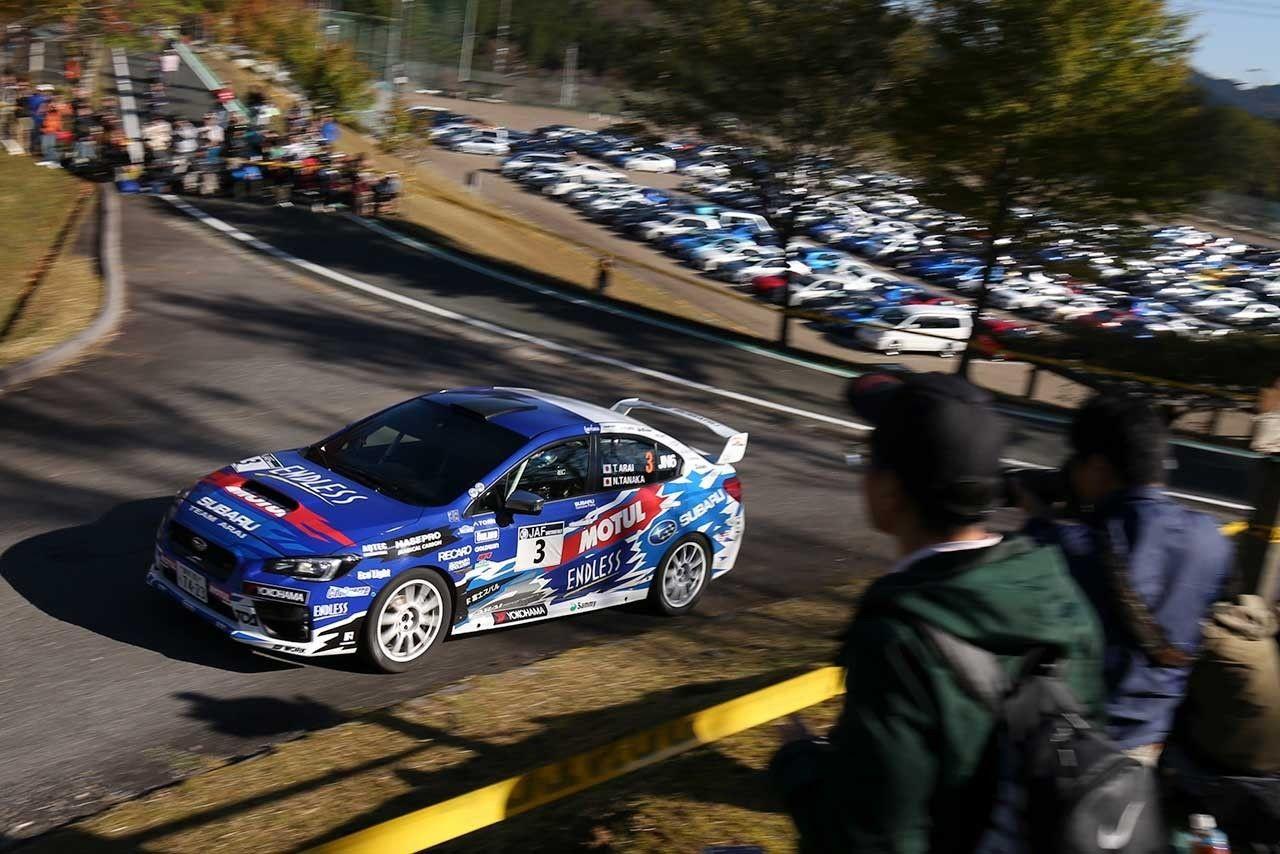 Toshihiro Arai Shinshiro Rally 2016