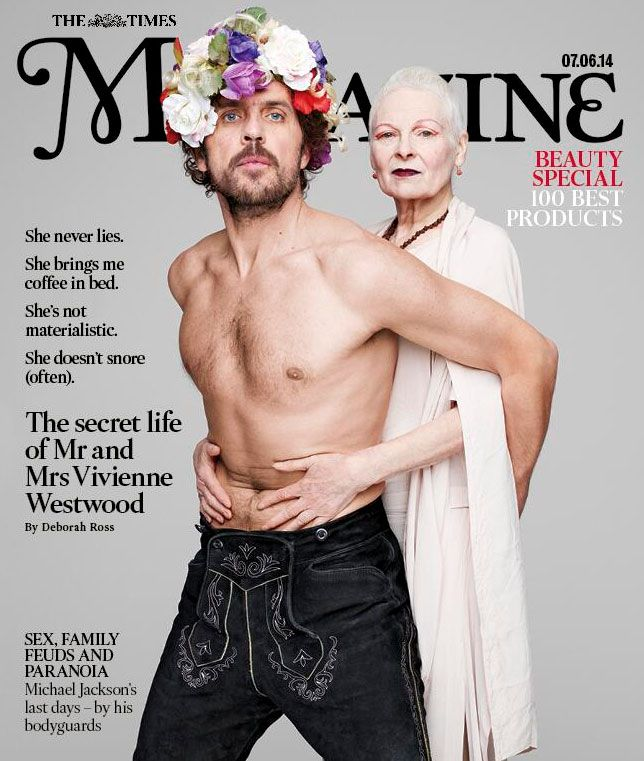 At Home With The Westwoods Andreas Kronthaler And Vivienne Westwood Shot By Rankin For The Times Vivienne Westwood Vivienne Westwood