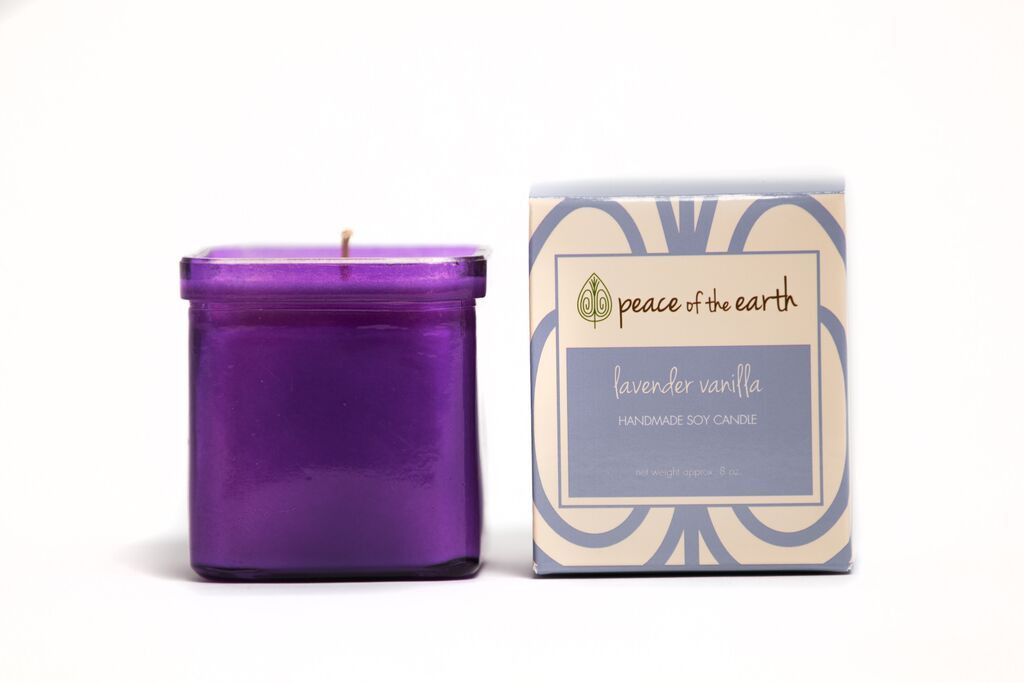 Lavender Vanilla Soy Candle | $19.99 | Peace of Earth | http://www.yelp.com/biz/peace-of-the-earth-louisville