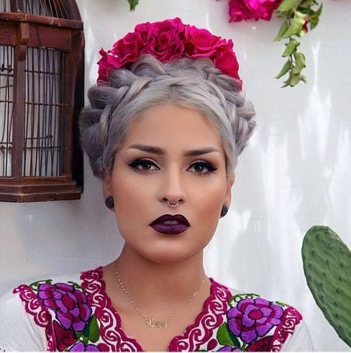 Acogedor peinados mexicanos Imagen De Consejos De Color De Pelo - lapinchekarem: Lora Arellano ️ (NeoMexicanismos ...