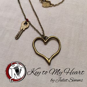 Key to my heart by Juliet Simms never take it off