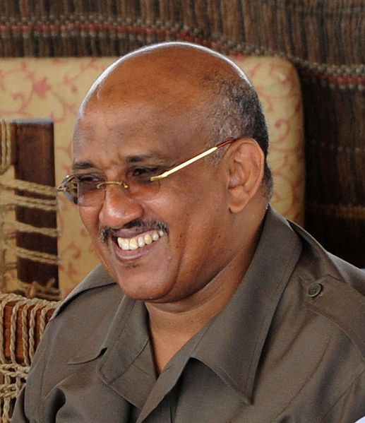 Dileita Mohamed Dileita, former Prime Minister of Djibouti and UMP representative in the District of Djibouti.