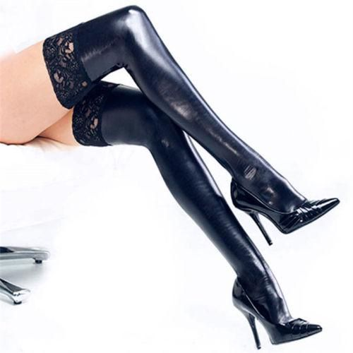 1b326e22a6e6d Sexy Lace Stockings Women Black Thigh High Over Knee Socks - High Street  Whistles