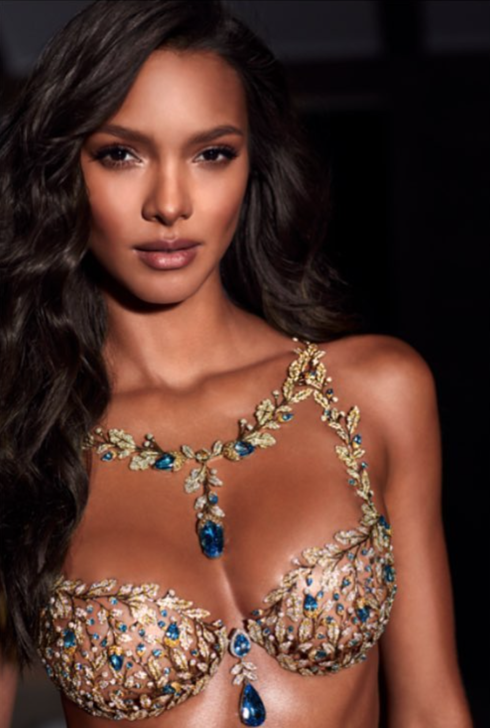517ae6fad3649 What Champagne Nights Fantasy Bra Who Lais Ribeiro Cost 2000000 For the 2017  show Lais Ribeiro was bestowed the.