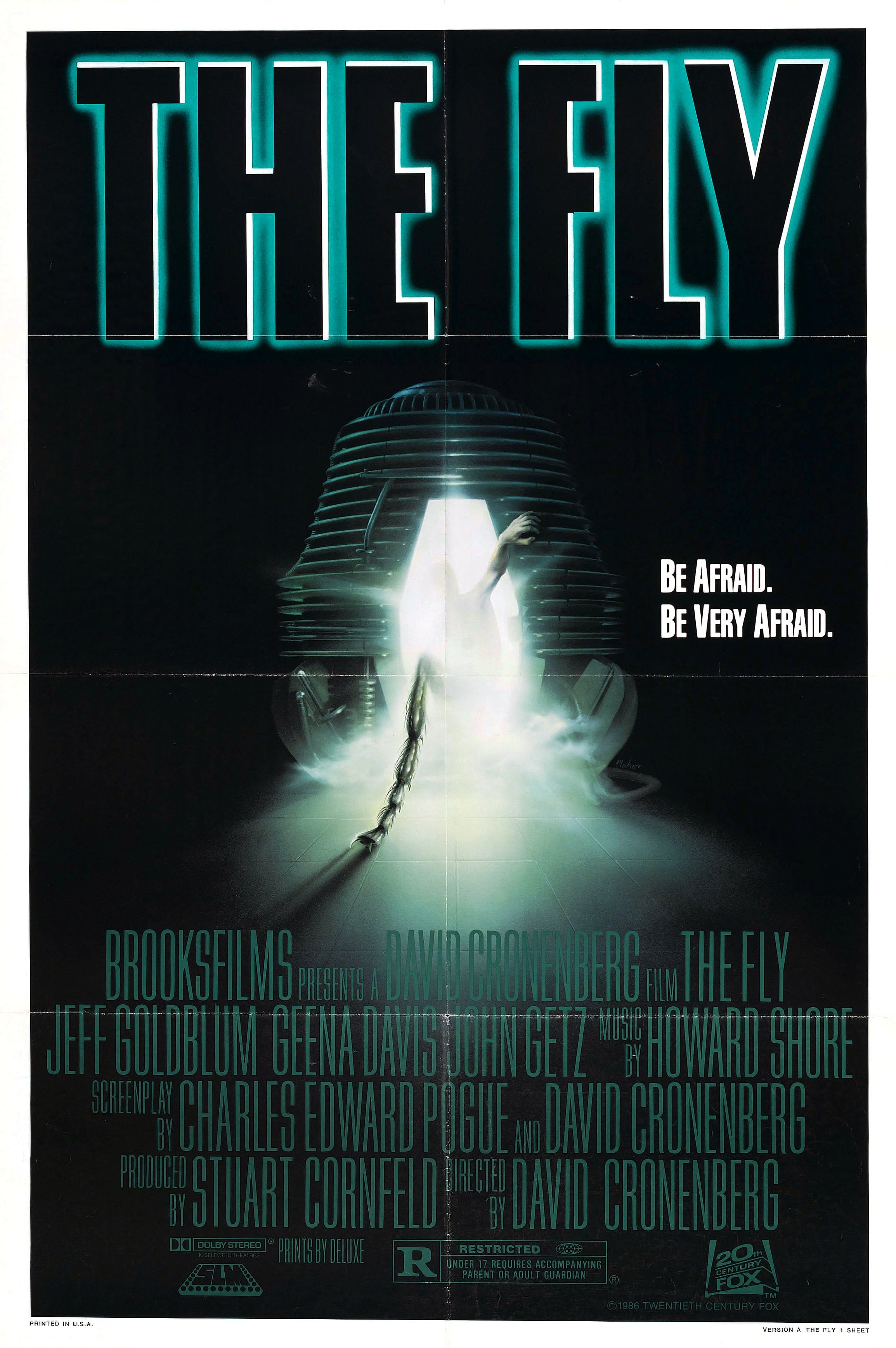The Fly David Cronenberg With Images Top Horror Movies Movie
