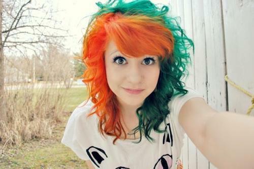 <3 green & orange