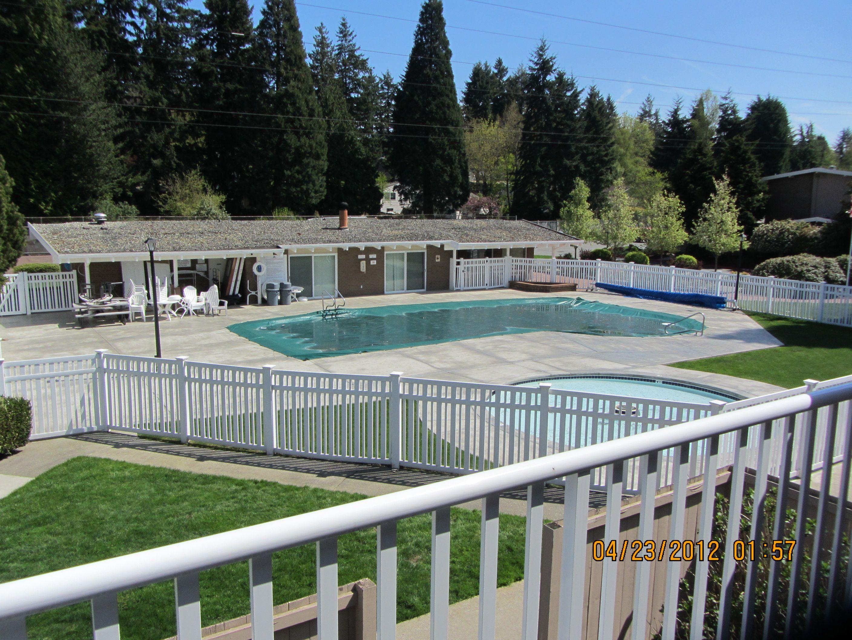 Condo Complex Pool Area