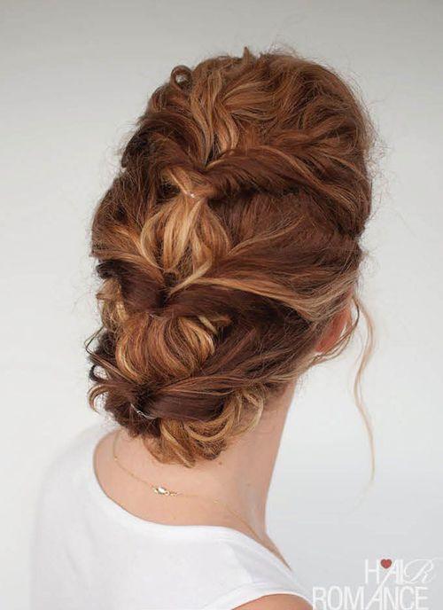 coiffure originale mariage