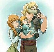 Anna and kristoffs kids