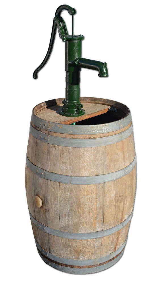Regentonne 300 Liter Größen aus Eichenholz mit grosser