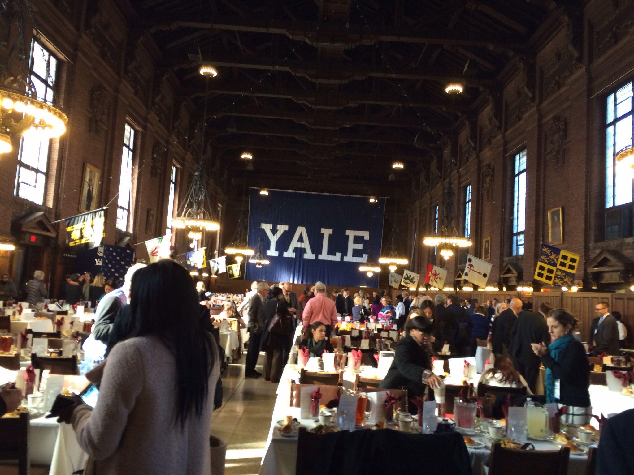 Aya Dinner Commons Yale Yale University University