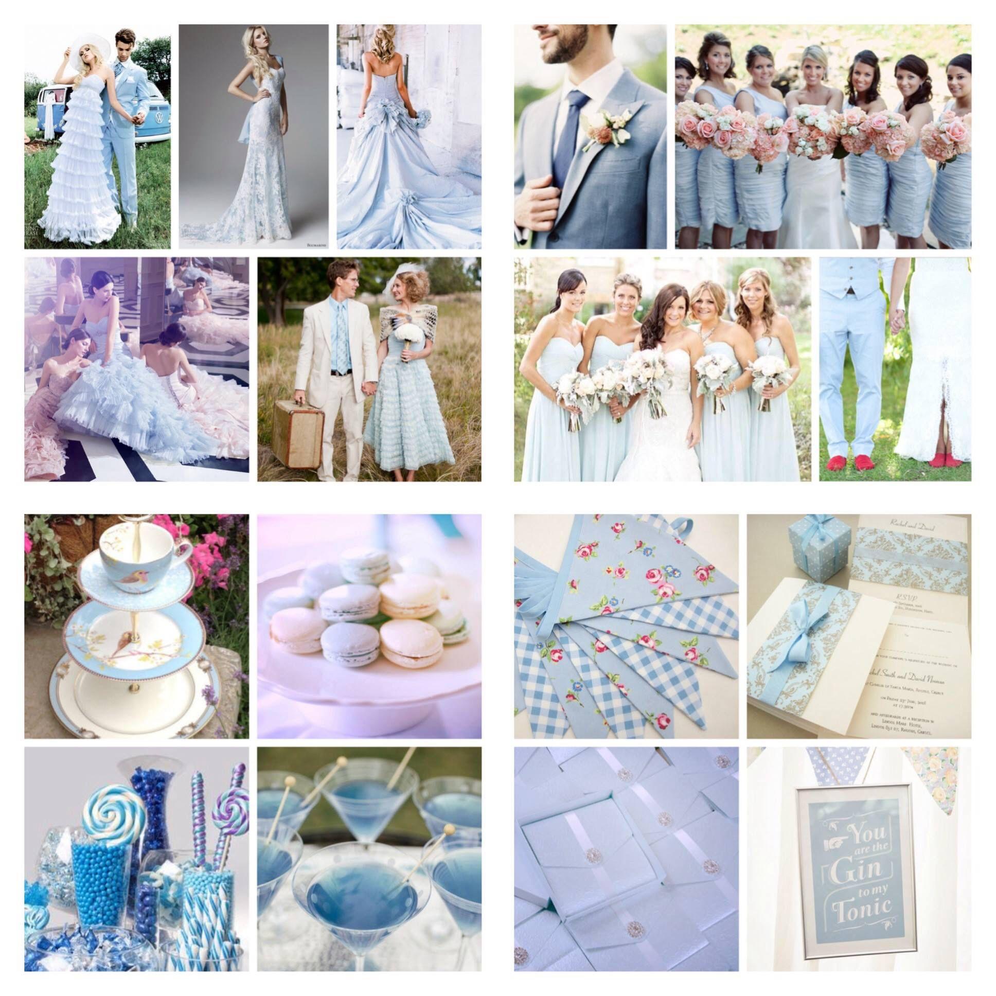 Baby blue shabby chic themed wedding | Wedding themes | Pinterest ...