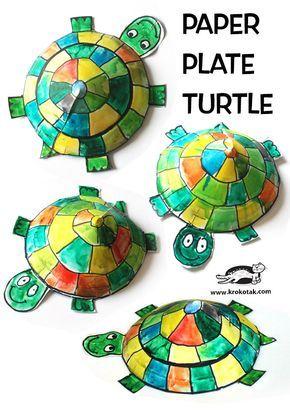 Tortu Tortue · Paper Plate ...  sc 1 st  Pinterest & Tortu Tortue | Messages activités | Pinterest | Turtle crafts ...