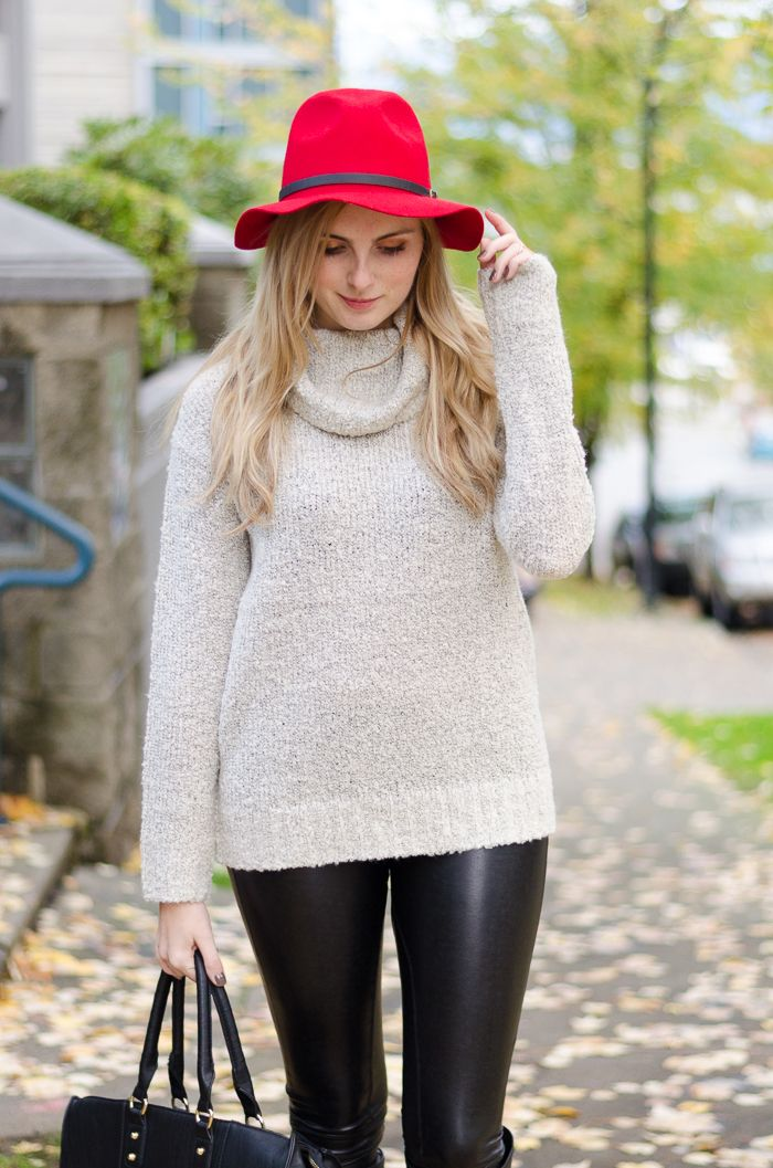 Casual cozy fall style