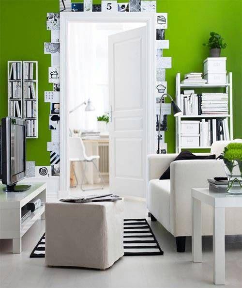 wohnzimmer einrichten grün, Decorating Pinterest Decorating