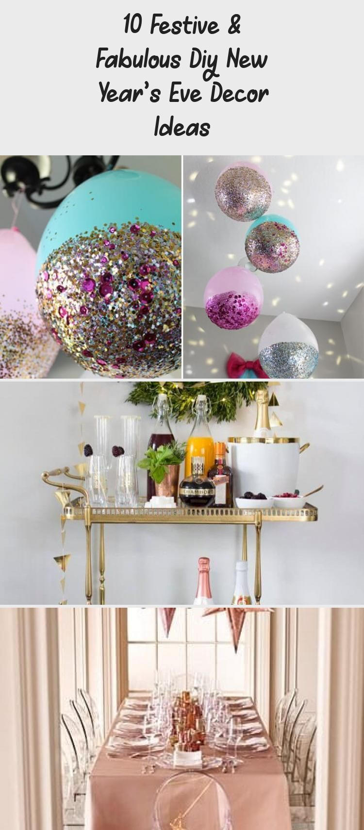 10 Festive amp; Fabulous DIY New Year s Eve Decor Ideas # ...